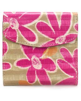 Striped Daisy Collection Rieti Floral Wallet