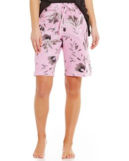 Topia Floral Bermuda Sleep Shorts