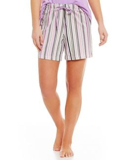 Topia Striped Jersey Sleep Shorts