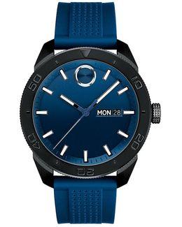 Analog, Day & Date Bracelet Watch