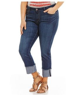 Plus Arrow Straight Skinny Jean
