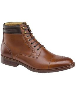 Men's Garner Cap Toe Boots