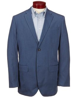 Heather Twill Suit Jacket
