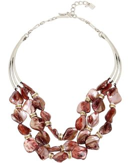 Mother-of-pearl Multi-strand Necklace