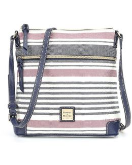 Westerly Collection Striped Cross-body Bag