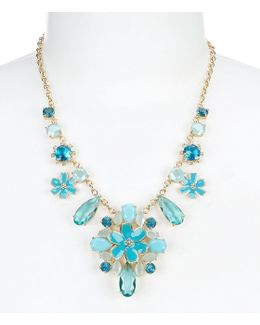 Here Comes The Sun Statement Necklace