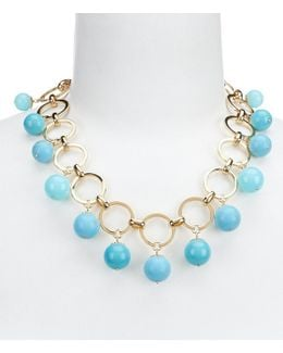 Start A Movement Turquoise Statement Necklace