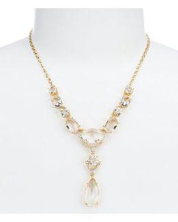Crystal Cascade Y-necklace