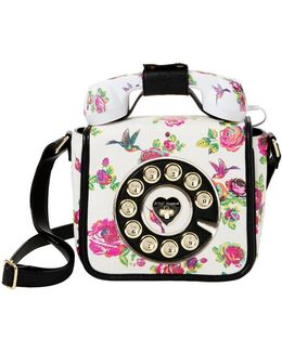 Betsey ́s Hotline Floral Phone Cross-body Bag