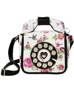 Betsey ́s Hotline Floral Phone Cross-body Bag