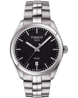 Pr 100 Analog & Date Bracelet Watch