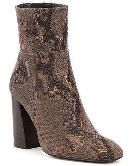 Nolita Snake-print Boots