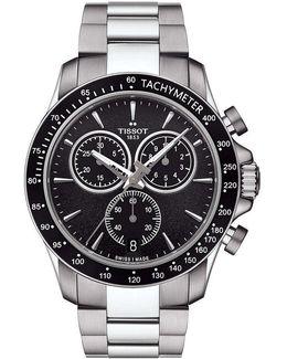 T-sport V8 Chronograph & Date Bracelet Watch