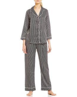 Matte Satin Pajamas