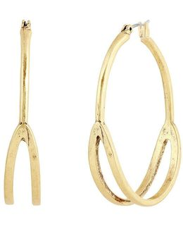 Split Hoop Earrings