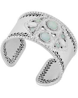 Jade Statement Cuff Bracelet