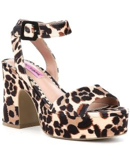 Claude Platform Sandals