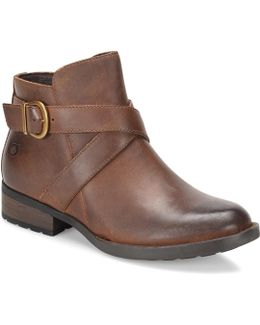 Trinculo Leather Booties
