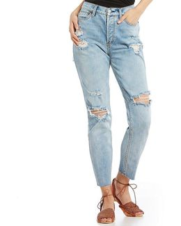Lacey Stilt Distressed Skinny Jeans