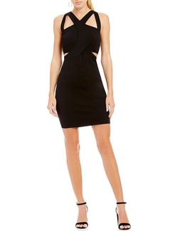 Zuri Cutout Sheath Dress