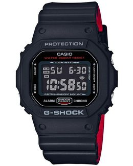 Retro Square Digital Resin Strap Watch