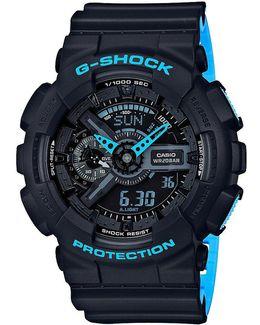 Ana-digi Resin-strap Watch