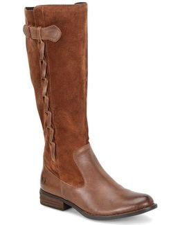 Cook Wide Shaft Tall Boots