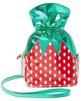 Strawberry Candy Cross-body Bag