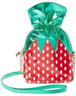 Strawberry Candy Cross-body Bag