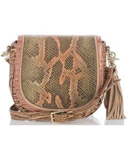 Pachanga Collection Mini Sonny Tasseled Saddle Bag