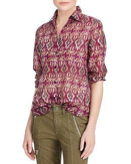 Cotton-silk Voile Shirt