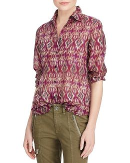 Cotton-silk Voile Shirt