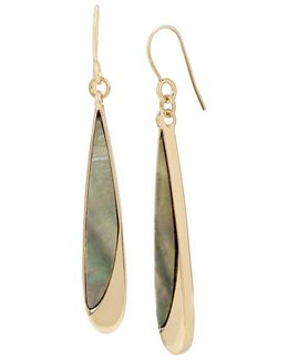 Mother Of Pearl Linear Earrings
