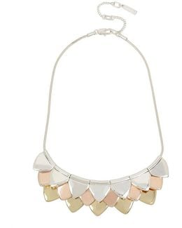 Tritone Triangle Frontal Necklace
