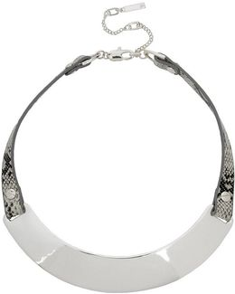 Leather Collar Necklace