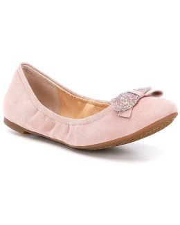 Neverly Bow Detailed Flats