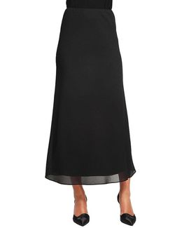 Georgette A Line Skirt