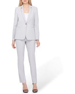 Petite Bi-stretch Pant Suit