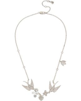 Blue By Love Birds Frontal Necklace