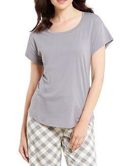 Topia Solid Jersey Sleep Top