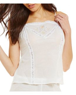 40th Anniversary Embroidered Woven Camisole