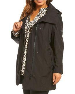 Plus A-line Light Weight Rain Jacket