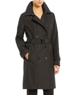 Rain Double Breasted Trench Coat