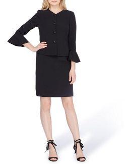 Bell Sleeve Skirt Suit
