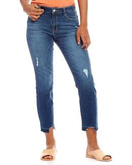 Cropped Flare Robbie Released Hem Jeans