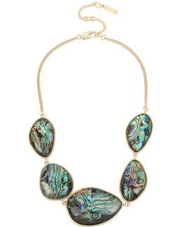 Abalone Frontal Necklace