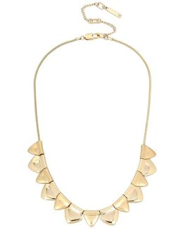 Goldtone Collar Necklace