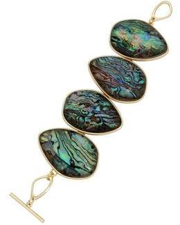 Abalone Line Bracelet
