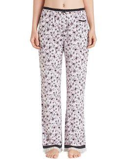 Floral Jersey Sleep Pants