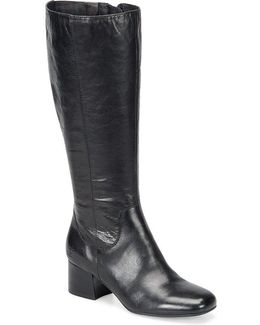 Avala Leather Tall Boots